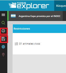 Nosis Explorer - servicio