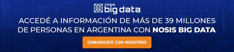 Segmentaciones B2C con Nosis Big Data.