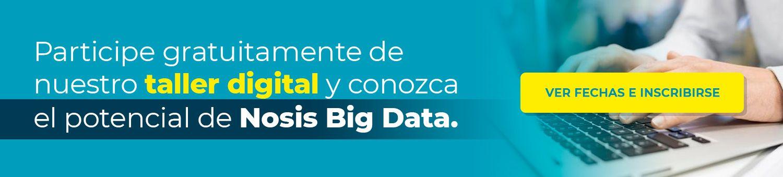 Incribirse a Taller Nosis de Big Data