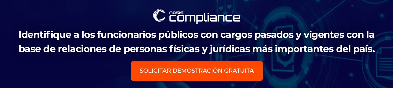 Pruebe Nosis Compliance gratis